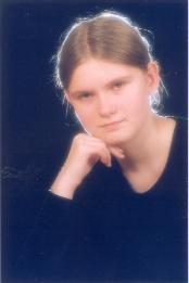 My daughter Agata, '2000